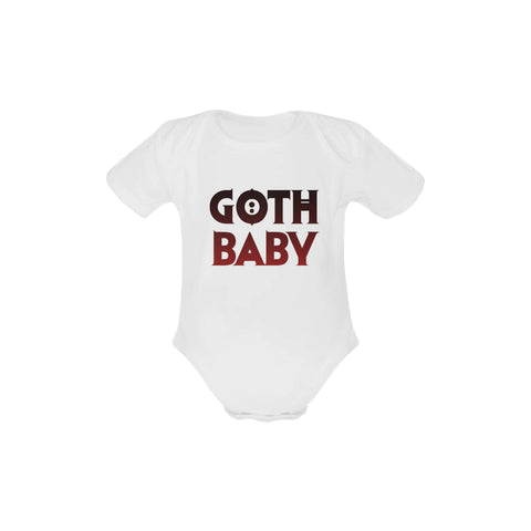 Image of Goth Baby Organic Onesie by Toddler Inc