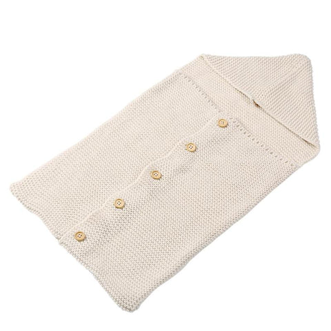Image of Comfy Wool Swaddle Blanket