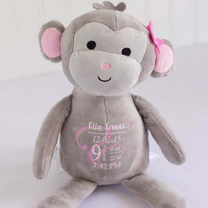 Lovely Customized Plush Monkey
