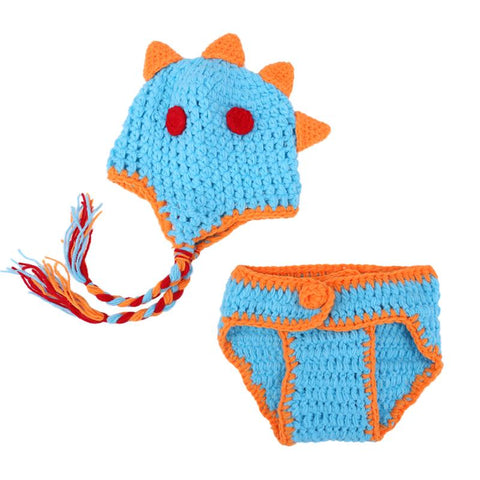 Image of Lovely Dinosaur Crochet Set