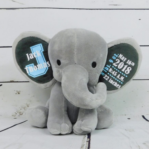 Image of Customized Baby Boy Elephant
