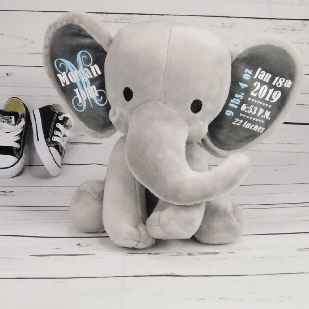 Customized Baby Boy Elephant