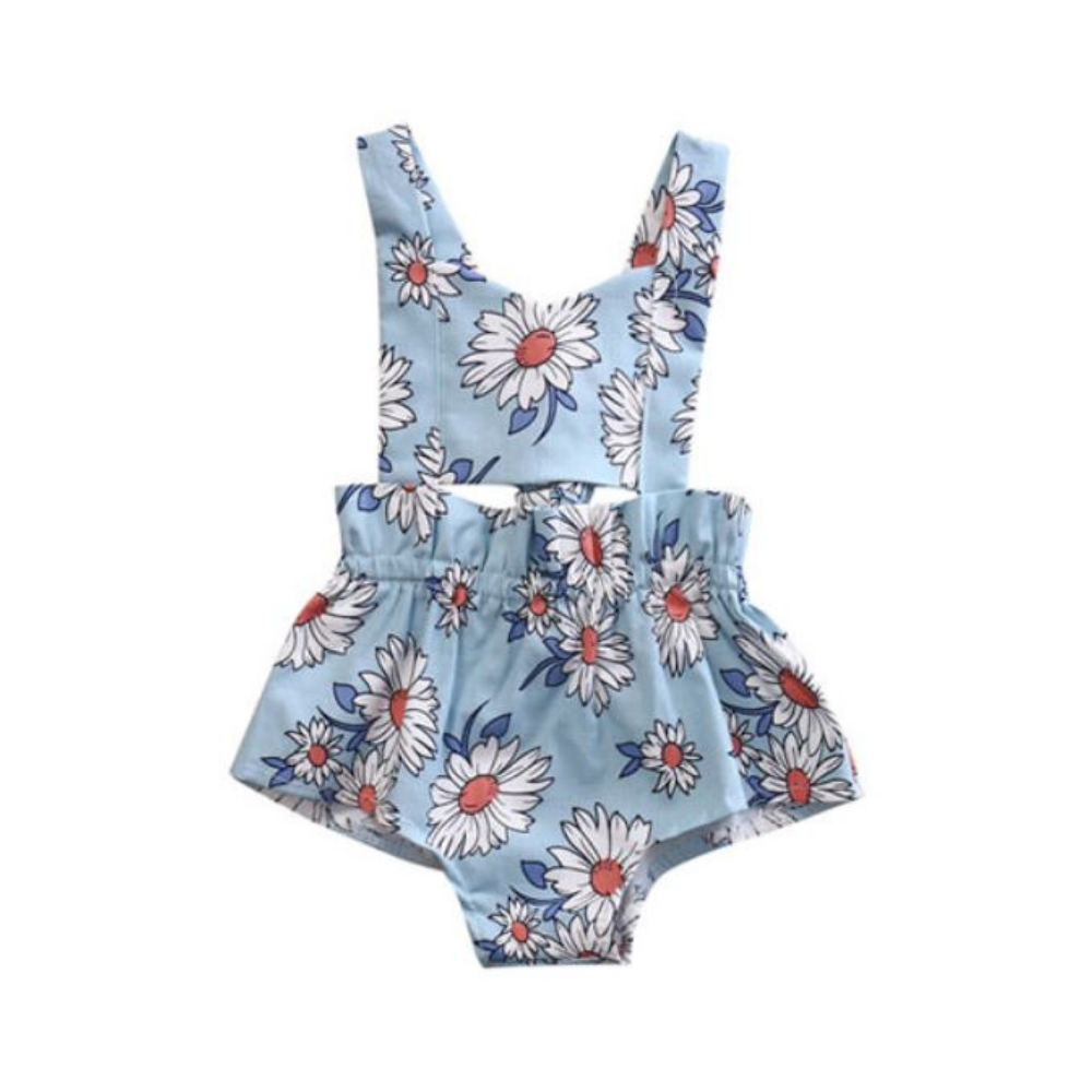 Lovely Floral Summer Romper