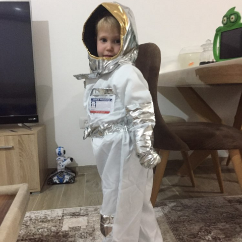 Image of Charming Astronaut Costume