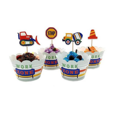 Image of Adorable Construction Themed Party Supplies