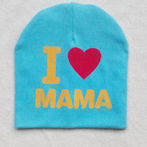 Image of Chic I Love Mama/Papa Beanie