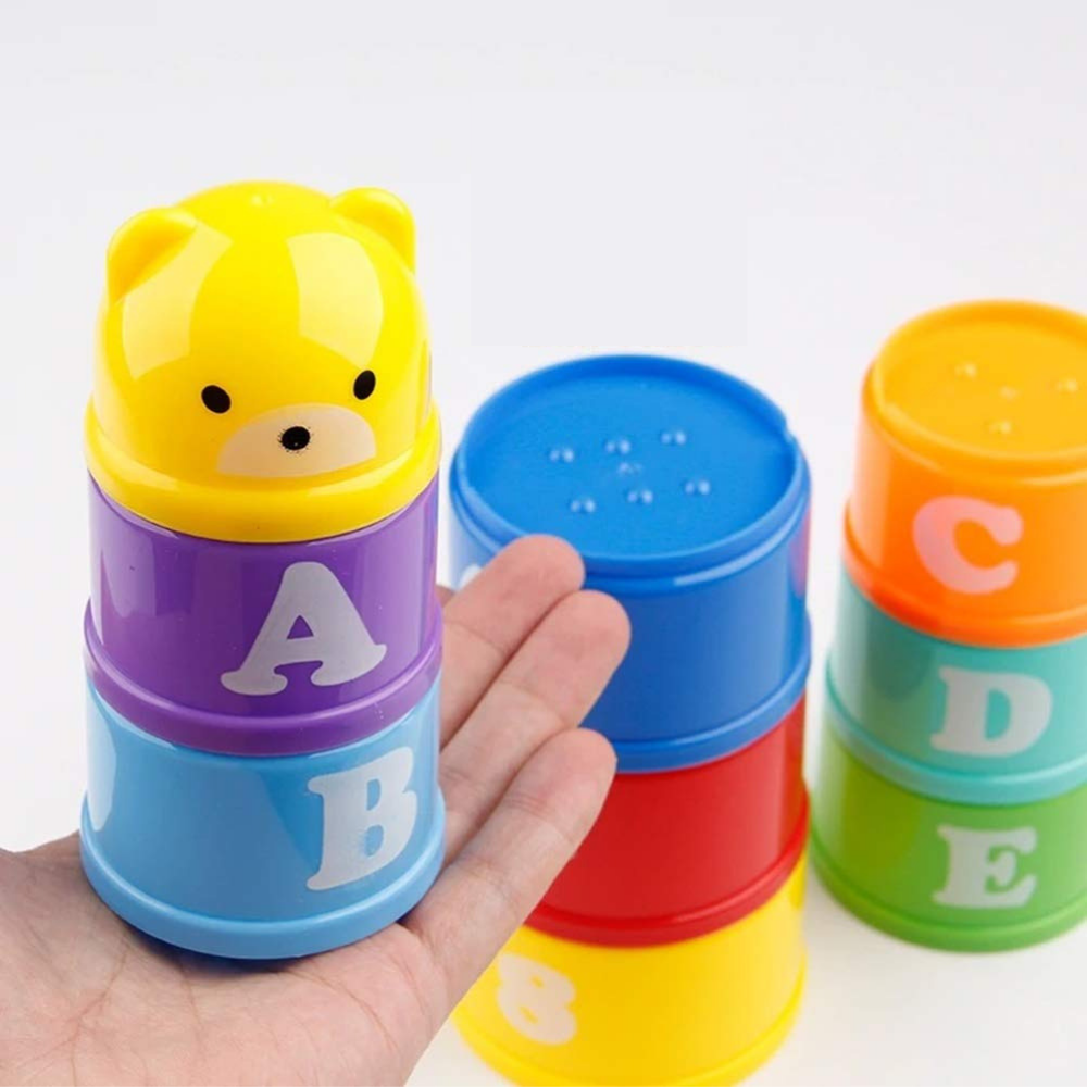 Educational Bear Stack Cups