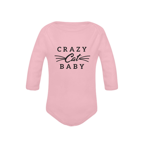 Image of Crazy Cat Baby Organic Onesie by Toddler Inc