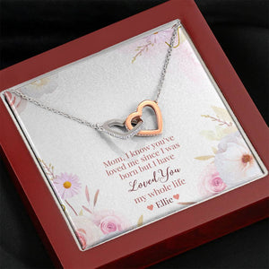 My Whole Life Necklace + Personalized Message Card