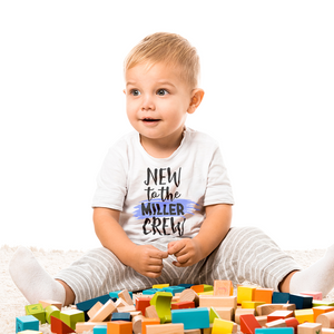 New to the Crew Baby Tee by Toddler Inc
