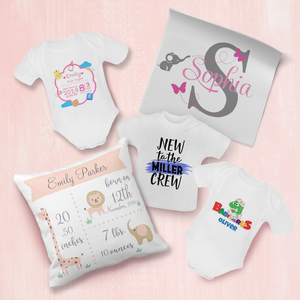 Personalized Newborn Bundle