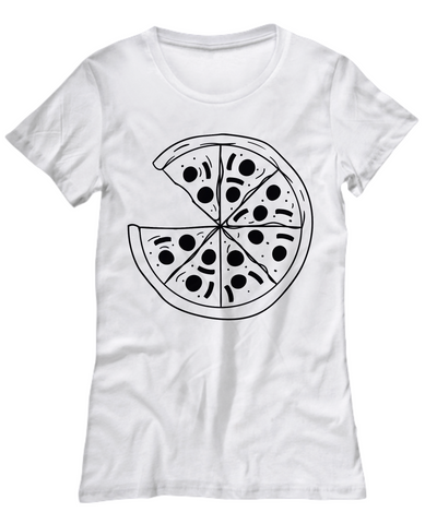 Image of Pizza Patterned Women's Tee by Toddler Inc