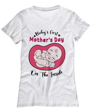 Baby's First Mother's Day T-Shirt