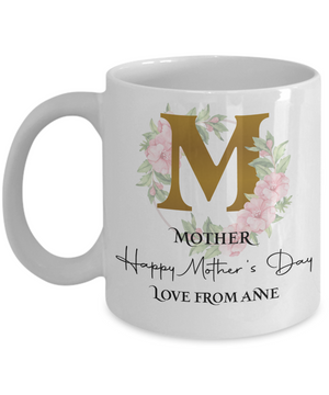 Beautiful Mother's Day Personalized Mug