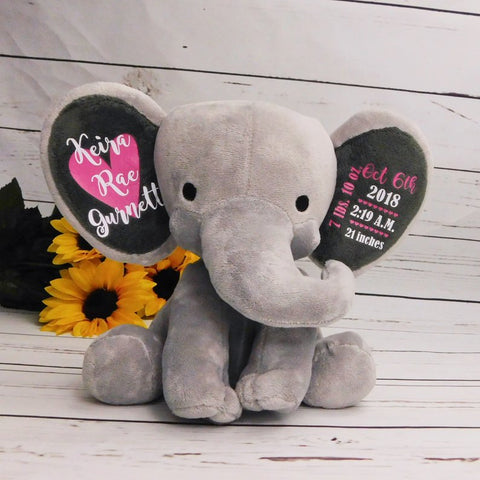 Image of Customized Baby Girl Elephant
