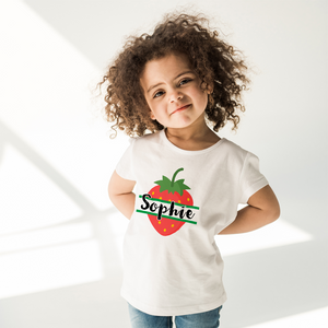 Personalised Summer Fruits Baby Tee by Toddler Inc
