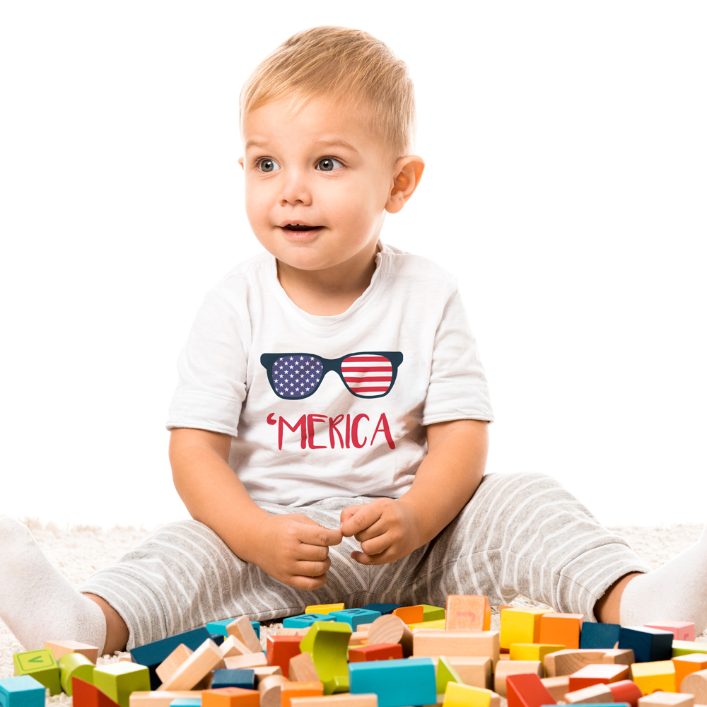 'Merica Baby Tee by Toddler Inc