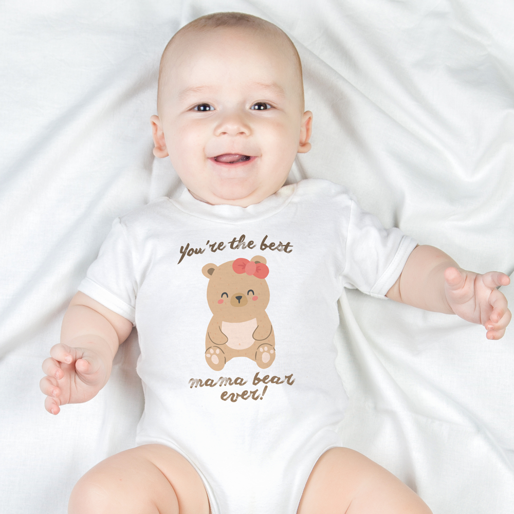 Mama Bear Organic Onesie by Toddler Inc
