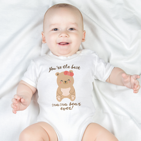 Image of Mama Bear Organic Onesie by Toddler Inc