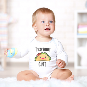 Taco 'Bout Cute Organic Onesie by Toddler Inc