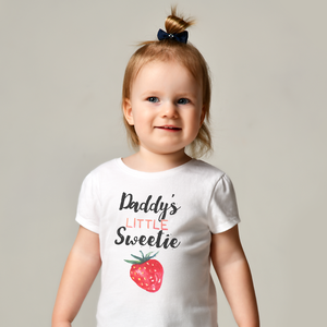 Daddy's Little Sweetie Baby Tee by Toddler Inc