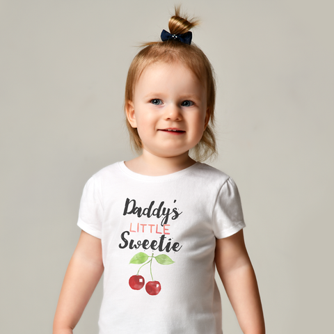 Image of Daddy's Little Sweetie Baby Tee by Toddler Inc