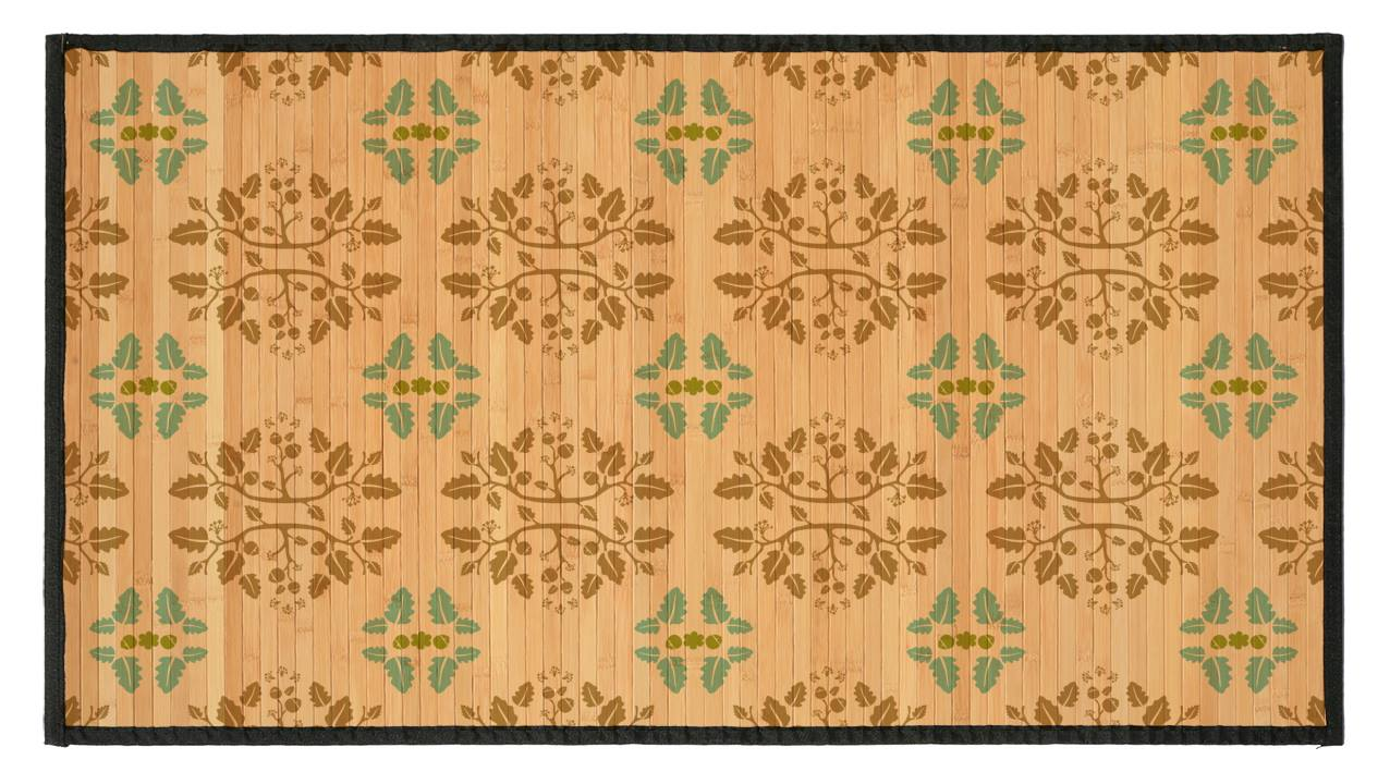 Oak Color Bamboo mat