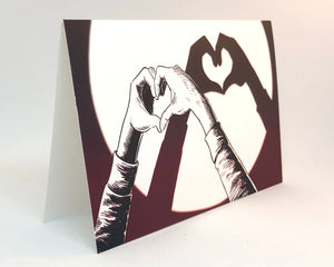 We totally heart you heart hands insta greetingcard from jim tom for tickle and smash