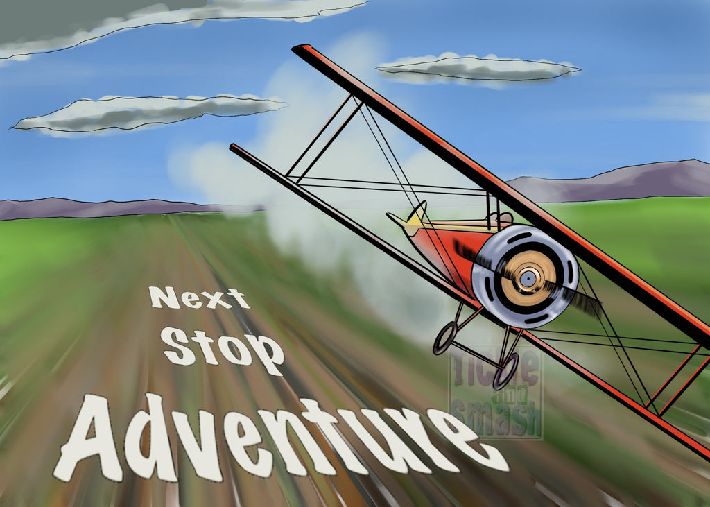 Next Stop.. Adventure Greeting Card