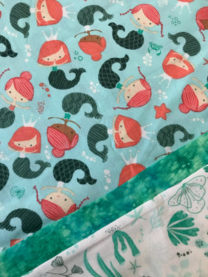 Mermaid Standard Single Pillow Case for Bedtime Adventures
