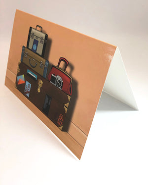 Let's Go Anywhere! Travel Greeting Cards. For those who Wander. by Jim Tom for Tickle And Smash