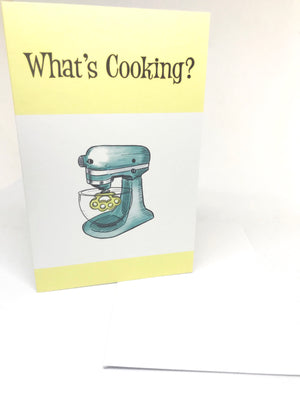 whats cooking greeting card illustrated by jim tom for tickleandsmash