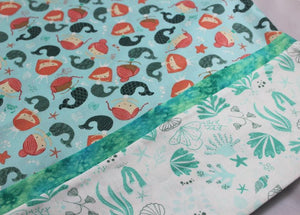 Mermaid Standard Single Pillow Case - Kid's Bedtime Adventures by Suzanne Leonhart for Tickle And Smash