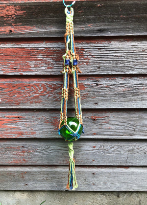Tickle And Smash Macrame plant hanger indoor garden home decor bohemian rope knots