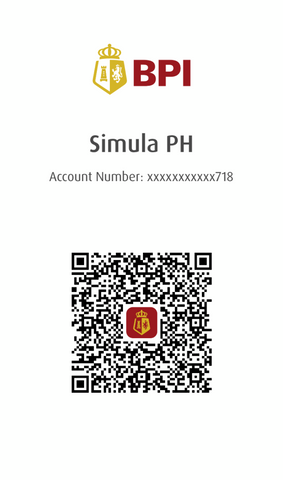 Simula PH QR Code for BPI