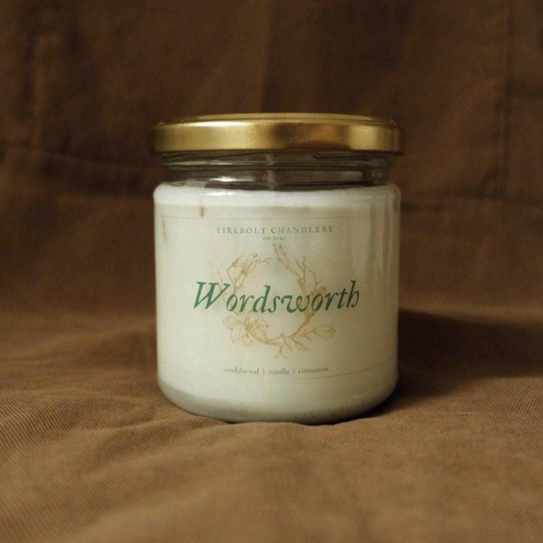 Wordsworth Soy Candle