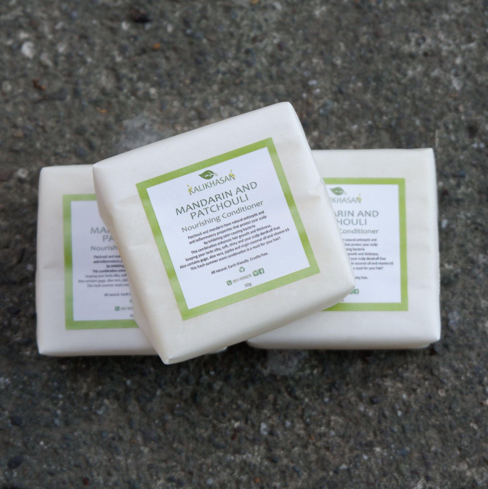 Mandarin & Patchouli Conditioner Bar