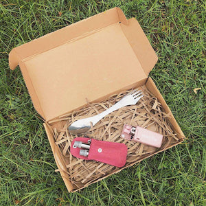 Open image in slideshow, Straw & Sporkini Gift Set
