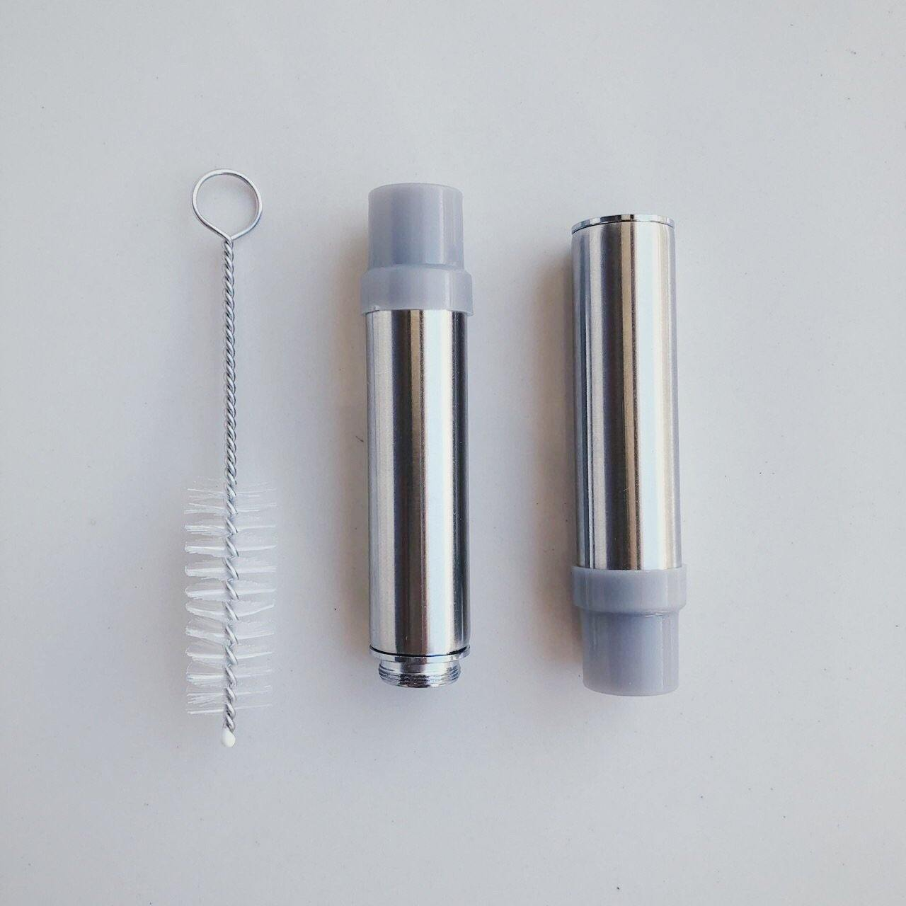 Collapsible Milk Tea Straw with Pouch