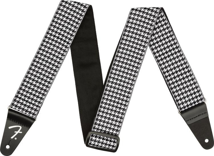 Fender Houndstooth Strap - White - 0990709005
