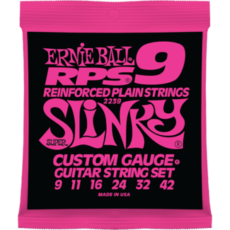Ernie Ball 2239 RPS Super Slinky 6-String Nickel Wound Electric Guitar Strings