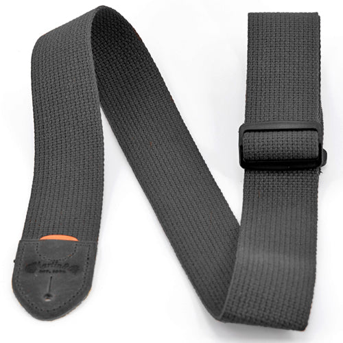 Martin Basic Cotton Weave Strap with Pick Holder Black
