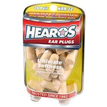 Load image into Gallery viewer, Hearos NRR32 Ear Plugs