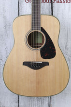Load image into Gallery viewer, Yamaha FG820-12 Dreadnought 12 String Acoustic Guitar Solid Spruce Top Natural