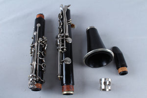 Used bb Flat Plastic Clarinet Non Branded Playable With Hardshell Case