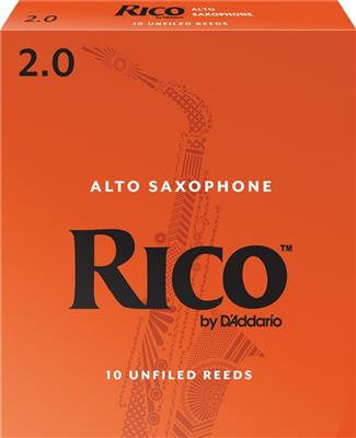 RICO Alto Sax #2 Reed - Single Reed