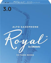 Load image into Gallery viewer, Rico Royal Alto Sax #3 Reed - Single Reed