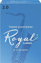 Load image into Gallery viewer, Rico Royal Tenor Saxophone Reed Size 2 - Single Reed