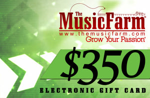 The Music Farm Gift Card - $25 to $500