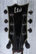 Load image into Gallery viewer, ESP LTD EC-500 Single Cut Solid Body Electric Guitar EMG HH Gloss Black Finish
